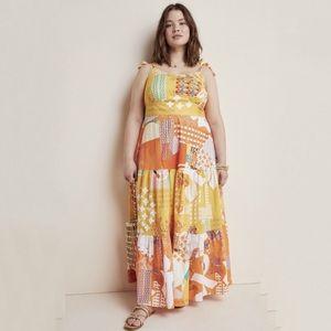 New Anthropologie Margarella Maxi Dress Size 2X
